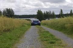 "997 turbo - 013 (Erkka Suominen) Tags: ""cobalt blau porsche"" blue ""bridge gantry"" nürburgring ""porsche 911 turbo"" ""911 ""997 ""pwr700"" ""evoms evt775"" ""evt775"" ""nürburgring bridge pccb"