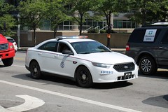 US Postal Police Ford Interceptor Sedan (Seluryar) Tags: us postal police ford interceptor sedan republican national convention rnc