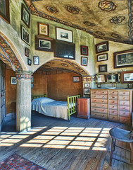 DormerRoom2 (Donna Meade Photography) Tags: art tile arch henrymercer fonthillcastle dormerroom