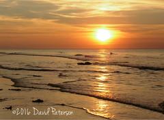 Waving Goodnight (David Paterson photos) Tags: sunset covesea beach lossiemouth morayfirth scotland skies