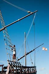 Descarte_museos (Andi Iglesias) Tags: museos carabela coln pinta embarcacin viaje baiona pinzn