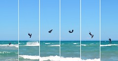 (vanilla_jo) Tags: kitesurfing kitesurf summersport jump sea beach extremesports sport surfing