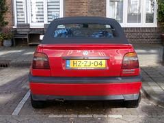 Volkswagen Golf 3 cabrio 1994 nr2168 (a.k.a. Ardy) Tags: hzzj04 softtop