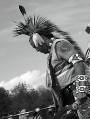 Native American1 (photoluver1) Tags: outdoor blackandwhite monochrome people natives nativeamerican tribal regalia dancer art