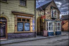 Ironbridge - Blists Hill Victorian Town 3 (Darwinsgift) Tags: ironbridge museum blists hill victorian town telford shropshire street hdr photomatix voigtlander 28mm f28 color skopar slii nikon d810 old antique