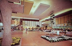 Chris-Town Shopping Centre, Phoenix, Arizona (SwellMap) Tags: postcard vintage retro pc chrome 50s 60s sixties fifties roadside midcentury populuxe atomicage nostalgia americana advertising coldwar suburbia consumer babyboomer kitsch spaceage design style googie architecture shop shopping mall plaza