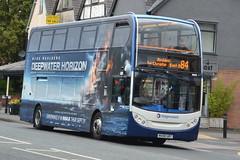 Stagecoach AD Enviro 400 19326 MX08UBT - East Didsbury (dwb transport photos) Tags: stagecoahc manchester alexander dennis enviro bus decker 19326 mx08ubt eastdidsbury