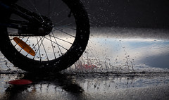 gone (keith midson) Tags: bicycle bike wheel water father brucehattam bruce hattam why noonetoldme dad