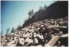 Devil's Postpile National Monument (kevinmarquezphoto) Tags: vivitar ultra wide slim 35mm toy inyo national forest nature hiking 395