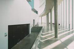 Main Hall (Tom Levold (www.levold.de/photosphere)) Tags: luxemburg luxembourg philharmonie philharmonia architektur architecture fuji fujixpro2 xpro2 light shadows