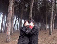 (LaSandra.) Tags: girls pineta trees faceless undercover sandralazzarini