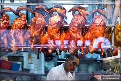 Peking Duck (Stefan Bock) Tags: street streetphotography people restaurant cooking kochen kche kitchen hongkong china