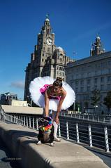 DSC06407 (liverpix) Tags: cleo dog performing anthonywalsh photowalk 500px liverpool pierhead liverbuilding ballerina ballet