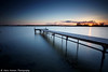 (Claire*Marsh) Tags: stanpitmarsh christchurch dorset uk water sea pier jetty le longexposure leefilters ndgrad sunset colour smooth sticks