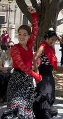 Flamenco (frederik89) Tags: siviglia seville spain spagna flamenco dancers ballerine red black street