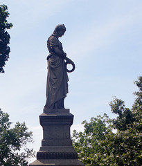 The Turnbull statue, Mount Pleasant Cemetery, Newark (Nesster) Tags: mount pleasant cemetery newark olympus zuiko 2848mm f4