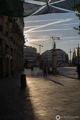 MADRID (gtmdreams) Tags: madrid espaa spain city skyline tower torres rascacielos ayuntamiento ciudad alcala street calles cibeles skyscraper