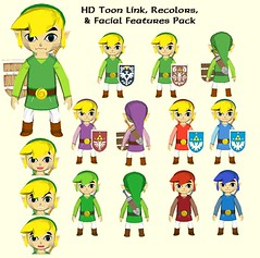 The Legend of Zelda: The Wind Waker - Link with Texture Pack Free Papercraft Download (PapercraftSquare) Tags: link thelegendofzelda thelegendofzeldathewindwaker thewindwaker