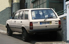 Peugeot 305 GLD Break 1988 (XBXG) Tags: auto old france classic portugal car station vintage wagon french automobile break estate diesel 1988 voiture madeira peugeot funchal stationwagon ancienne 305 franaise madre gld peugeot305 0309md