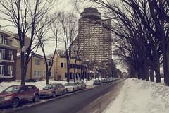 {51/52} avenue Wilfrid Laurier (Kap-) Tags: street winter snow canada hiver québec neige quebeccity rue 52