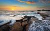 Forresters Beach (M.Thien) Tags: seascape sunrise nikon australia nsw 1635 forresters leefilter d700