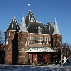 De Waag, Nieuwmarkt (Iam Marjon Bleeker) Tags: holland amsterdam nieuwmarkt dewaag winterinamsterdam nieuwmarkt2013013v