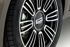 Qoros 3 Sedan - detail - wheel and caliper (bigblogg) Tags: sedan qoros3 qorosgq3 geneva2013