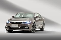 Qoros 3 Sedan - front qtr wheels turned lights on (bigblogg) Tags: sedan qoros3 qorosgq3 geneva2013