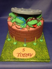 Teenage Mutant Ninja Turtle cake1 (jmcrumbs1) Tags: cake turtle ninja mutant teenage