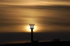 The beacon (Kirkleyjohn) Tags: sunset silhouette beacon armadabeacon pakefield pakefieldbeacon