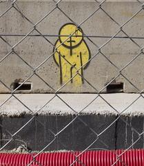 untitled #30 (Dabhaidh Harris) Tags: barcelona street man david art fence photography graffiti trapped cage prison harris fotografia daveharris daveharris75 dabhaidhharris