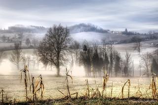 sleeping countryside