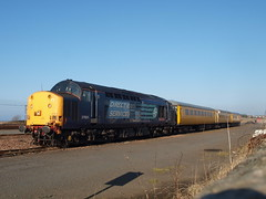 Ayr - 19-02-2013 (agcthoms) Tags: scotland trains ayr railways ayrshire drs class37 falklandyard 37601