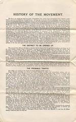 Crieff-Comrie railway prospectus, c1891 (P&KC Archive) Tags: travel industry scotland community 19thcentury perthshire trains printing localhistory ecsochistory