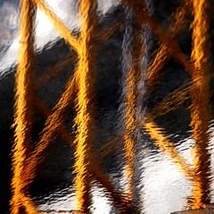 de-composing (enki22) Tags: abstract water yellow square wind minimalism conceptual icm decompose intentionalcameramovement enki22