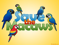 Save the Macaws (birdorable) Tags: