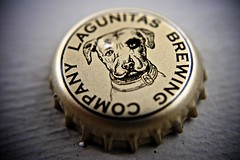 Lagunitas Bottle Cap (Wires In The Walls) Tags: dog macro beer brewing bottle mascot cap lagunitas 2013 wilcofoxtrottango
