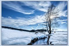 bei Kirchberg (die_Nicky79) Tags: winter bayern bach fluss landschaft niederbayern bayerischerwald