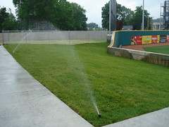"Bowling Green Ballpark irrigation • <a style=""font-size:0.8em;"" href=""http://www.flickr.com/photos/22274533@N08/8523914952/"" target=""_blank"">View on Flickr</a>"