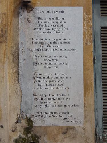 urban poem #2