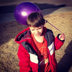 Just #Malikaiz and a purple balloon. / on Instagram http://instagr.am/p/Wa9chLMmhI/ (JonZenor) Tags: photos tumblr instagram