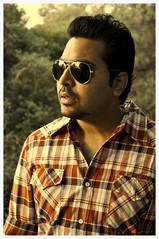 Navin Rajput (Adil Peshimam) Tags: sunglasses beard rough mumbai rugged rayban checks vashi countryman frenchbeard