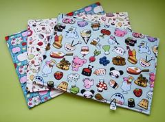 Jogos americanos baby (Meia Tigela flickr) Tags: baby handmade artesanato artesanal craft bebê jogo americano tecido estampado feitoamão