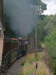 Chugging On (Worthing Wanderer) Tags: summer wales july railway steam 2009 ffestiniog narrowgauge ffestiniograilway gwynnedd