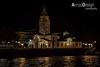 Parroquia Mayor de San Pedro Apóstol - Gijón (ArrojoDesign) Tags: night canon eos 350d noche san gijón negro pedro nocturna apostol parroquia flickraward arrojodesign