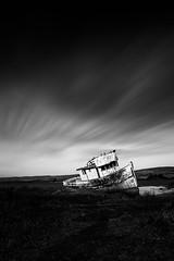 Time Capsule (Sairam Sundaresan) Tags: sanfrancisco california canon boat rust ship decay shipwreck canon5d pointreyes inverness reyes marooned sairam canon5dmarkiii sairamsundaresan