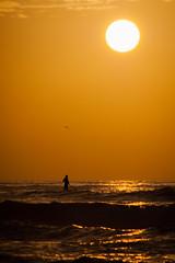 Sunset at Nahal Soreq's sea shore (Flavio~) Tags: nahalsoreq