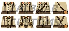 WWII Japanese Decals (zalbaar) Tags: world 2 japan japanese war lego pacific wwii ww2 decal customs zalbaar