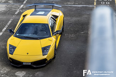 Lamborghini LP670-4 SV (Fast-Auto.fr) Tags: auto city friends light urban sun color art fashion yellow festival clouds jaune canon geotagged fun photography eos march photo europe track raw day photos fast super lp 7d circuit lamborghini supercar lemans sv piste paddock murcielago iphone veloce murci 2013 fastauto worldcars superveloce iphoneography lp6704 lp670 fastautofr