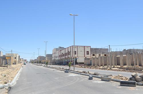 Boujdour, ex- Cape Bojador, a city in the Sahara desert